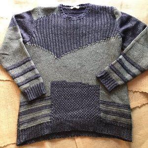 Roberto Collina Wool Silk Crewneck Sweatshirt